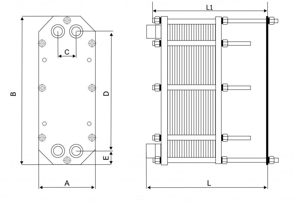 Теплообменник gea минус биметаллический теплообменник для сушильной камеры